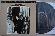 BOB DYLAN John Wesley Harding MFSL-2-423 Mobile Fidelity Sound Vinyl LP #2643 NM