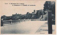 # ENNA: IL BELVEDERE DI S. ORSOLA - LA CATTEDRALE E IL CASTELLO DI LOMBARDIA