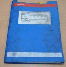 VW Golf 4 IV Bora 4 Zyl. Dieselmotor AGP AGR AHF  Werkstatthandbuch Leitfaden