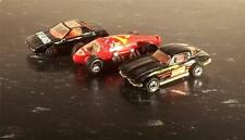 HOT WHEELS 3 CAR LOT BLACK GETTY CORVETTE FIERO LAKESTER GREAT CONDITION & PRICE