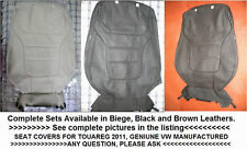 VW TOUAREG 2011/2012/2013/2014 GENUINE LEATHER SEAT COVER WITH HEATER-BUY NOW-1