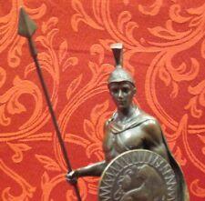 Art Deco Bronze Sculpture Statue Spartan Greek Warrior Soldier Gladiator