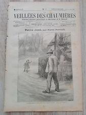 Journal illustré 1908  - Veillées des Chaumières - 25 Novembre - Petite José...