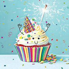 Gâteau d'anniversaire Sparkle Tasse Drôle CARTE ANNIVERSAIRE 3D goggly yeux mobiles