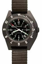 US MILITARY PILOT WATCH MARATHON NAVIGATOR w/ DATE AVIATION H3 NEW Sage Green