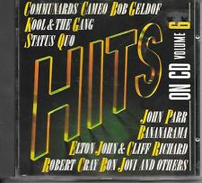 V/A - Hits on CD Volume 6 CD 15TR (MERCURY) 1987 Bananarama Cameo Bon Jovi