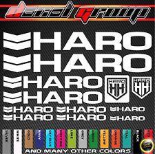 HARO Replacement MTB BMX Frame Vinyl Decals Aufkleber Adesivi Stickers 12pcs