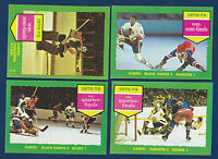 SEMI FINALS STANLEY CUP PLAYOFFS 73-74 TOPPS 1973-74 NO 196 EX  7320
