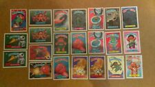 Garbage Pail Kids stickers 1987 Series 8 plus others bundle