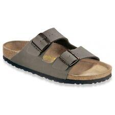 512dfc8e6 Birkenstock Arizona Sandals - narrow regular - blue brown black white  Birko-Flor