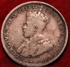 1925 Australia Shilling Silver Foreign Coin