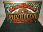 Anheuser Busch Beer MICHELOB on DRAUGHT Sign Vintage RARE