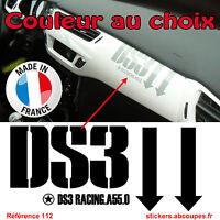 Stickers Tableau de bord DS3 - Citroen Racing DS 3 Planche intérieur - 112