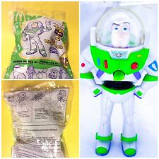 TOY STORY BUZZ LIGHTYEAR CANDY DISPENSER McDonald's 1999 NEW * SHIPS FREE USA