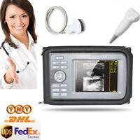 Human Handheld Ultrasound  Scanner Machine Convex  Linear/Vascular  2 Probes FDA