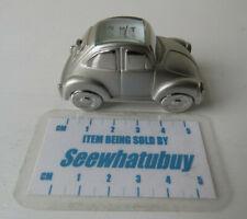 Miniature Novelty Collectors Clock: VW Beetle Sports Car