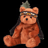 """TY BEANIE BABY """"LITTLE FEATHER"""" THE BEAR  MWMT"""