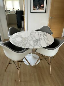 Vitra Eames DAW Armchairs - Set of 4 Immaculate