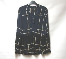 IN WEAR MULTI COLOURED PRINT DIP HEM TUNIC TOP UK 10
