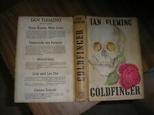 GOLDFINGER by Ian Fleming. First Edition, First Impression. 1959