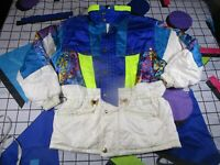 vtg 90s 00s lesud winter sports  ski snowboard jacket fancy dress