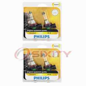 2 pc Philips Front Fog Light Bulbs for Saab 9-7x 2005-2009 Electrical ii