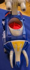 Imaginext BLUE POWER RANGER TRICERATOPS ZORD Fisher Price NO MISSILE/ACCESSORIES