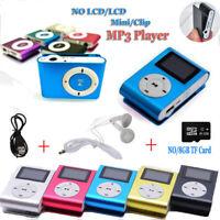 USB Digital Mini Mp3 Music Player NO / LCD Screen Support 32GB TF Card Wholesale