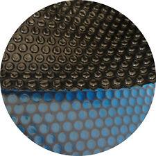 Solarfolie blau-schwarz rund 5,50 m Solarplane Solarabdeckung Isoplane Poolplane