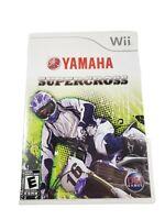 Yamaha Supercross, Nintendo Wii, 2008 Complete CIB