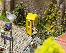 Faller 180394 h0, 2 teléfono celdas Bundespost, amarillo, Kit, Época IV, nuevo