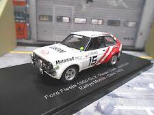 FORD Fiesta MKI RS 1600 Gr.2 Rallye Monte Carlo 1979 #15 Clark Motocra NEO 1:43