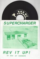 """Supercharger """"Rev It Up"""" 7"""" OOP The Rip Offs Mummies Makers"""