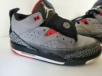 Nike Air Jordan Son Of Mars Low Cement Gray Fire Red Size 5.5 YOUTH (580604-004)