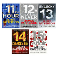 James Patterson Women Murder Club Series 5 Books Collection Set Pack