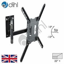 Dihl Wall Bracket Slim Swivel Tilt Mount LCD LED for 26 27 32 37 42 46 50 TV