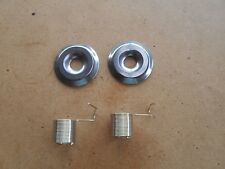 2X NEW TENSION DISCS 2X TENSION SPRINGS FOR INDUSTRIAL STRAIGHT SEWERS