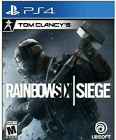 Tom Clancy's Rainbow Six Siege PS4 (PlayStation 4) NEW, SEALED