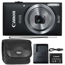 Canon IXUS 185 / ELPH 180 20MP Digital Camera Black and Camera Case