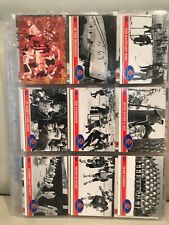 1991 FUTURE TRENDS 72 SUMMIT SERIES COMPLETE HOCKEY CARD SET (101 CARDS).