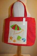 Longaberger Collectors Club Event Summer Red Tote Bag - New