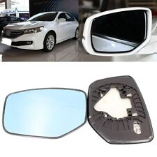 For Honda Accord 2008-2013 Side View Door Mirror Blue Glass With Base Heated