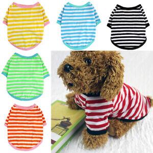 Puppy Pet Clothes Vest Puppy Small Dog Cat T Shirt Apparel Costumes ApparelS-2XL