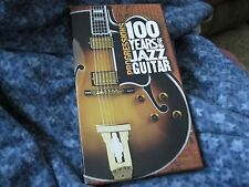 "PROGRESSIONS ""100 YEARS OF JAZZ GUITAR"" BOX SET FOUR CDS, BOOKLET SONY LONG BOX"