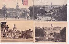 Lot 4 cartes postales anciennes LE HAVRE l'hôtel de ville 2