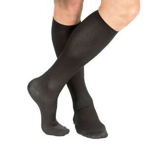 Men's Support Plus Lightweight Moderate Compression Dress Socks