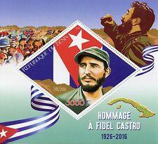 Benin 2016 MNH Fidel Castro 1v S/S World Leaders Stamps