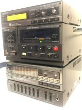 Sony Component System TA-158 TC158R FH-15R Amplifier Cassette FM AM Tuner