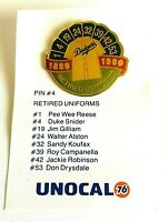 Pin #4 Retired Uniforms Tie Lapel Pin Unocal 76