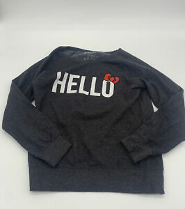 Hello Kitty Women's Sweater Size Medium Pre-Owned